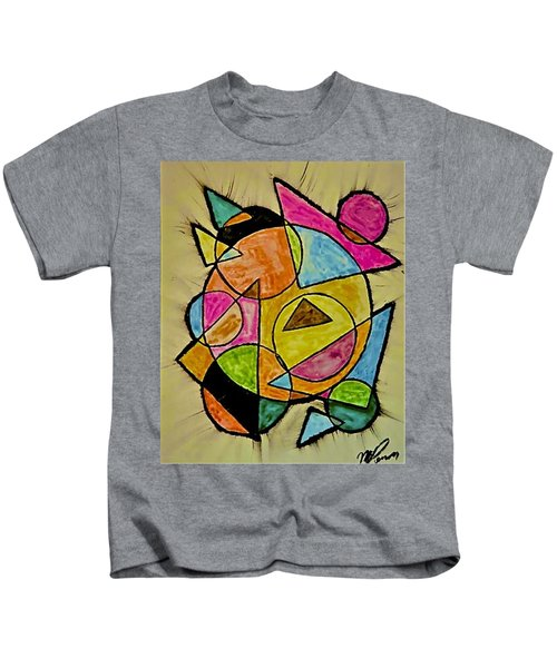 Abstract 89-004 Kids T-Shirt
