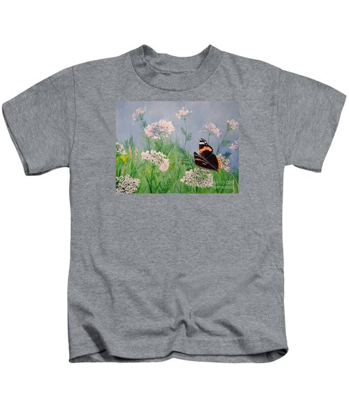 Admiral And Lace Kids T-Shirt