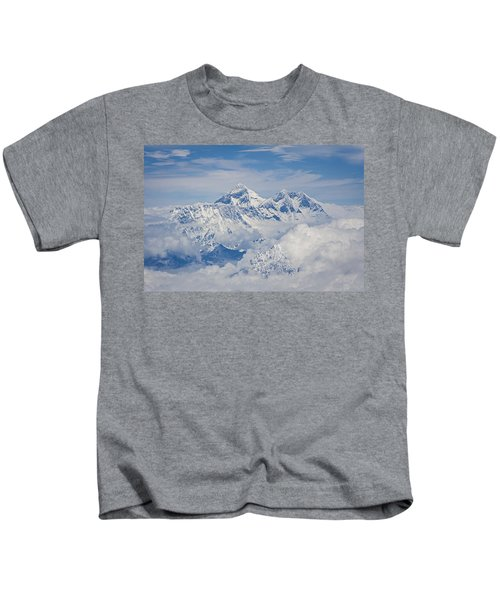 Aerial View Of Mount Everest, Nepal, 2007 Kids T-Shirt