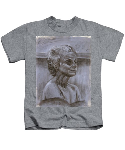 Aged Woman Kids T-Shirt