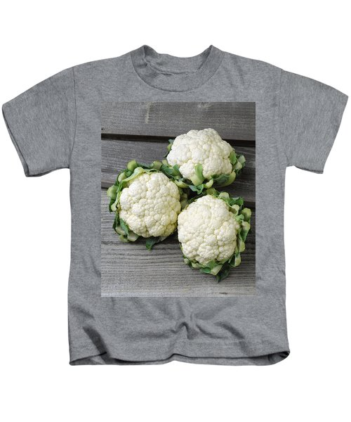 Agriculture - Fresh Heads Kids T-Shirt by Ed Young
