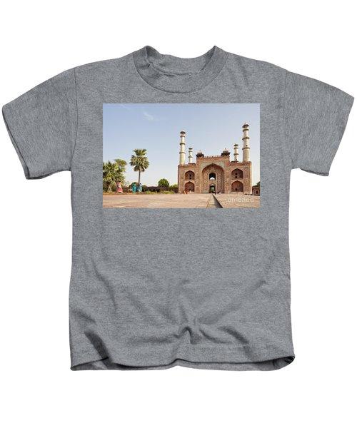 Akbar's Tomb In  India Kids T-Shirt