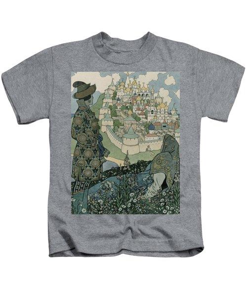 Alexander Pushkin's Fairytale Of The Tsar Saltan Kids T-Shirt