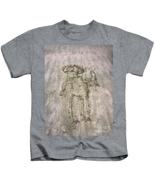 Alien On The Beach Kids T-Shirt