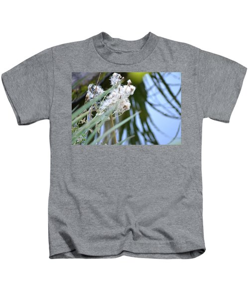 All The World Is Fluff And Posture Kids T-Shirt