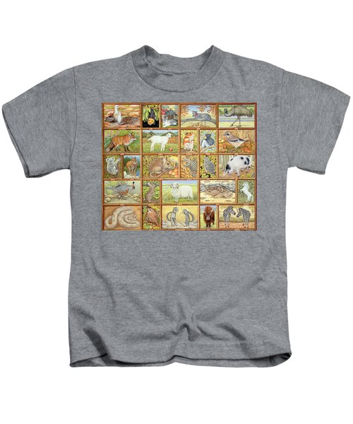 Alphabetical Animals Kids T-Shirt