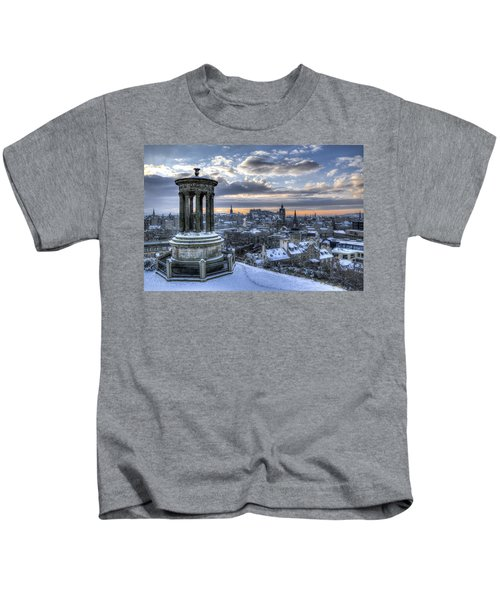 An Edinburgh Winter Kids T-Shirt
