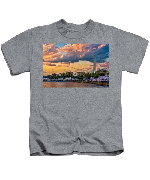 An Evening In Dc Kids T-Shirt