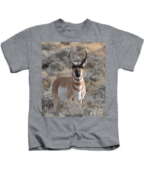 ...and The Antelope Play Kids T-Shirt