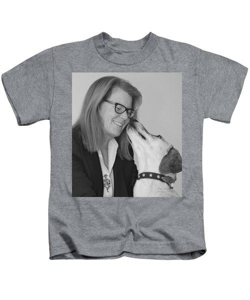 Andrew And Andree Bw Kids T-Shirt