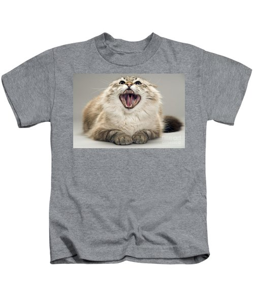 Angry Cat Kids T-Shirt