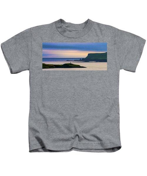 Ardtreck Point Lighthouse Kids T-Shirt