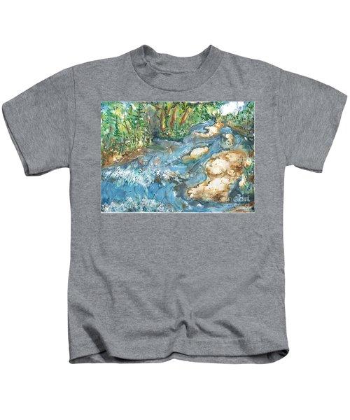 Arkansas Stream Kids T-Shirt