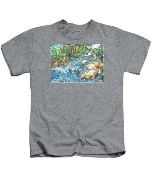 Arkansas Stream Kids T-Shirt