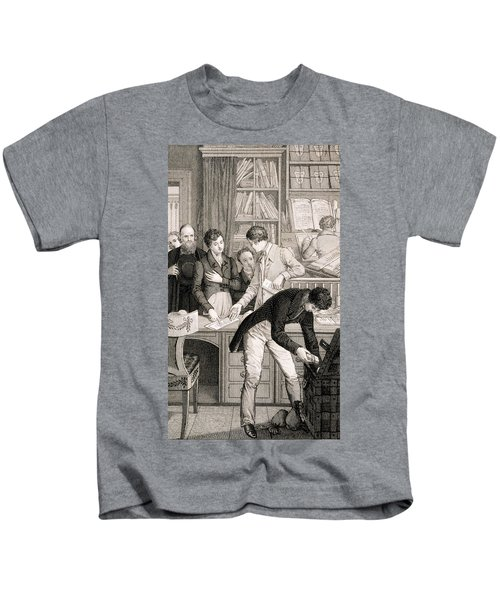 At The Bank, C.1800 Kids T-Shirt