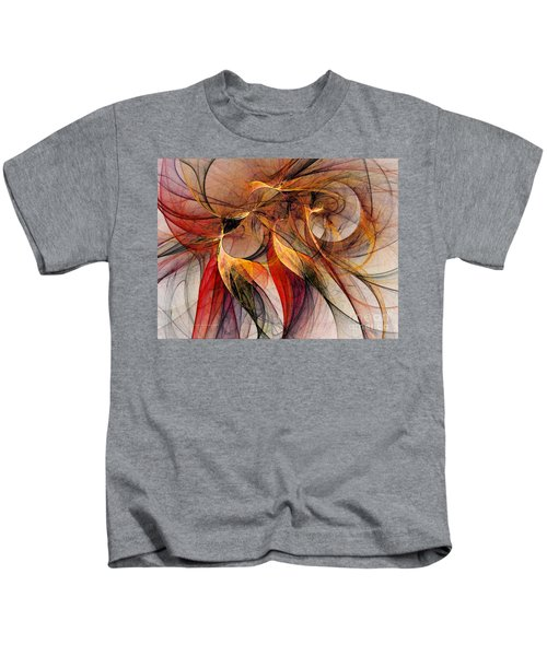 Attempt To Escape-abstract Art Kids T-Shirt