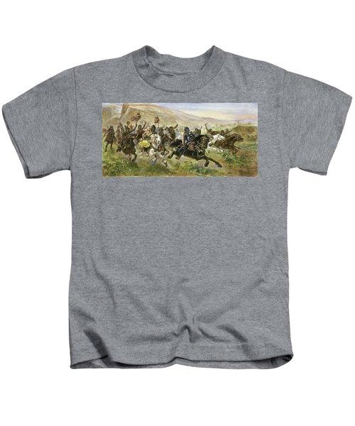 Attila (406?-453) Kids T-Shirt