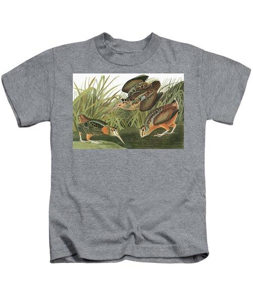 Audubon Woodcock Kids T-Shirt