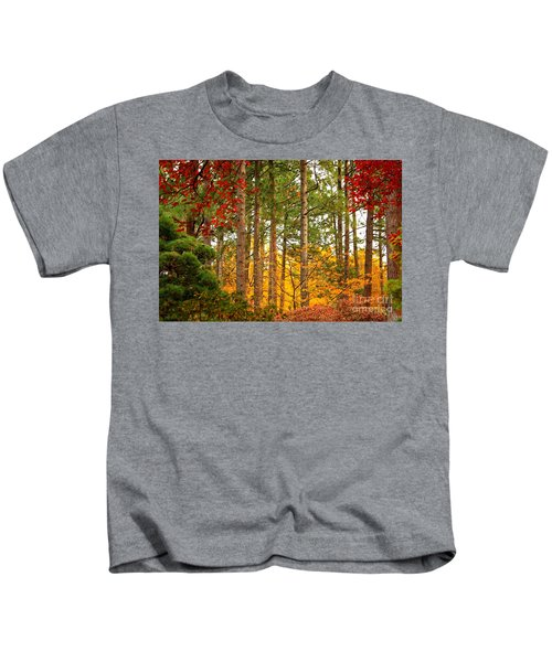 Autumn Canvas Kids T-Shirt