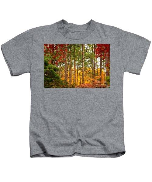 Autumn Canvas Kids T-Shirt