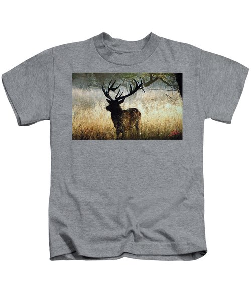 Kids T-Shirt featuring the photograph Autumn Forest Walk In Denmark  by Colette V Hera  Guggenheim