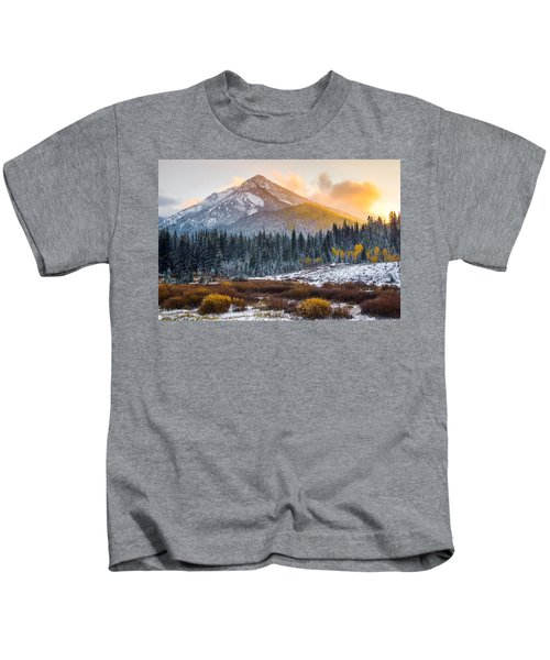 Autumn Glow Kids T-Shirt