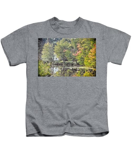 Autumn In Pastel Kids T-Shirt