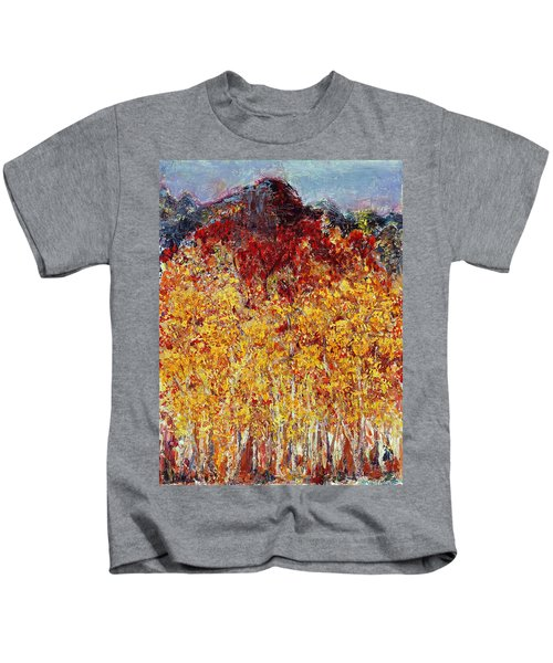 Autumn In The Pioneer Valley Kids T-Shirt