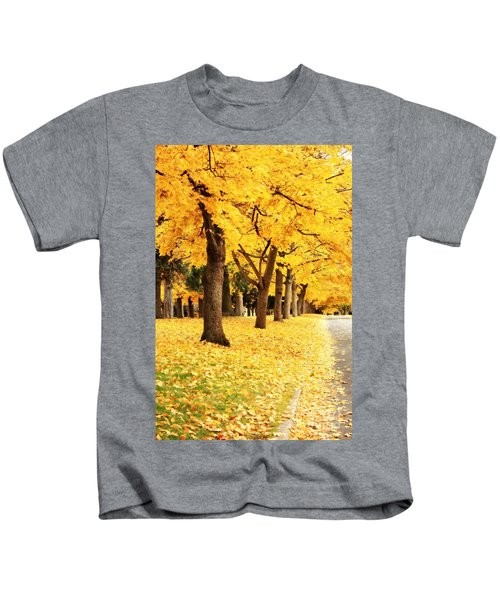 Autumn Perspective Kids T-Shirt