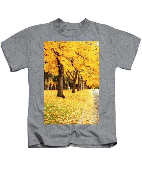 Autumn Perspective Kids T-Shirt