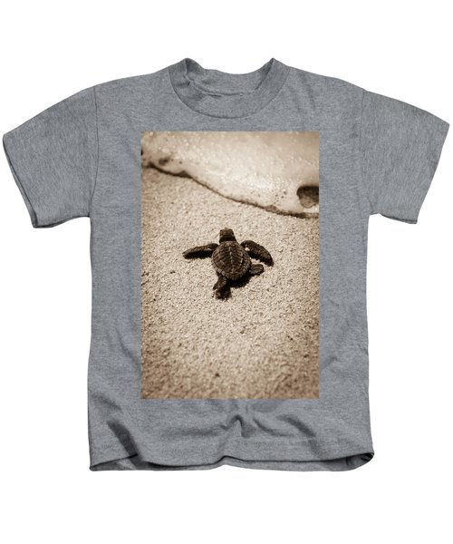 Baby Sea Turtle Kids T-Shirt