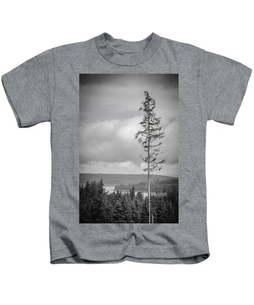 Tall Tree View Kids T-Shirt