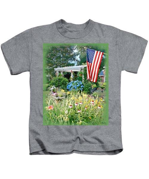 Backyard Paradise Kids T-Shirt