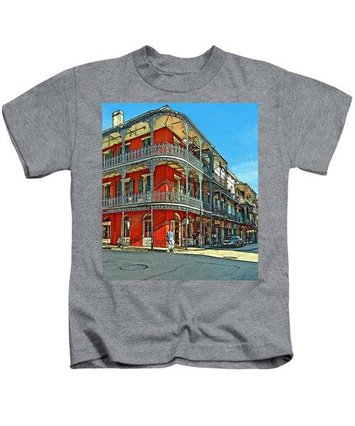 Balconies Painted Kids T-Shirt