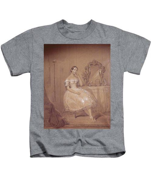 Ballerina In 19th Century Ballet Kids T-Shirt