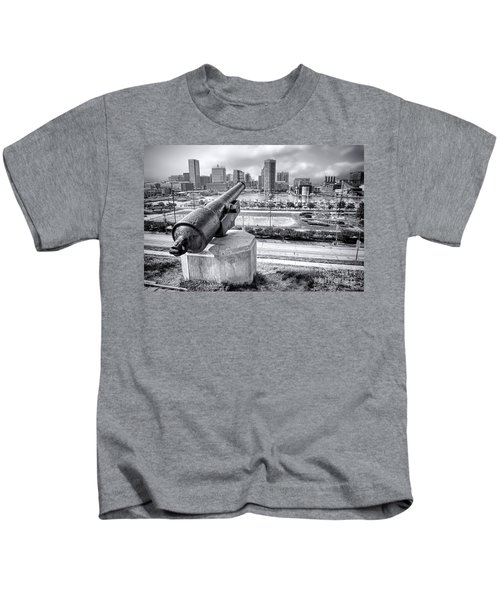 Baltimore Inner Harbor Skyline Kids T-Shirt