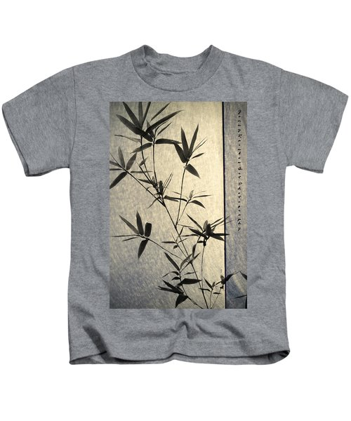 Bamboo Leaves Kids T-Shirt