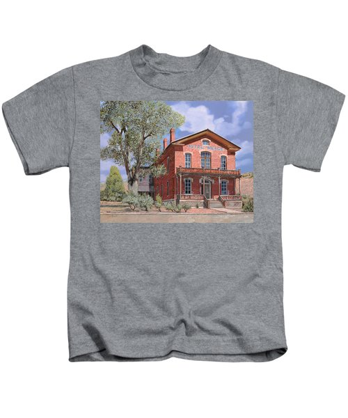 Bannock-montana-hotel Meade Kids T-Shirt