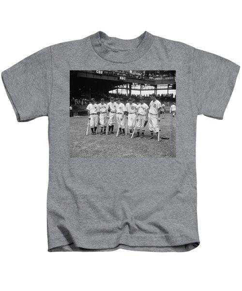 Baseball All Star Sluggers Kids T-Shirt