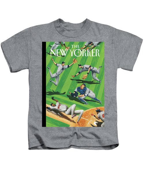 Baseball Ballet Kids T-Shirt