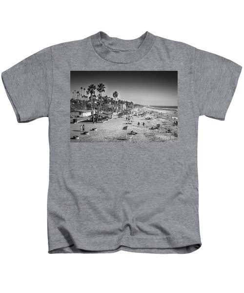 Beach Life From Yesteryear Kids T-Shirt