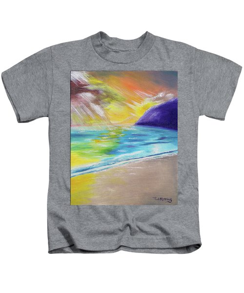 Beach Reflection Kids T-Shirt
