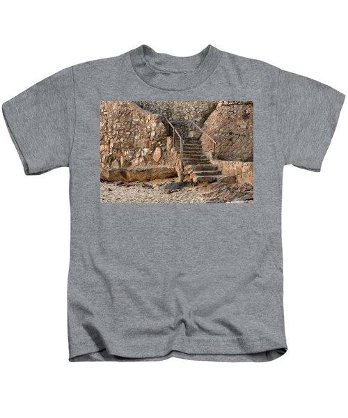 Beach Stairs Kids T-Shirt
