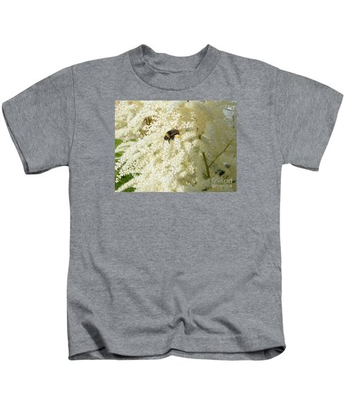 Bee Gathering Pollen Kids T-Shirt