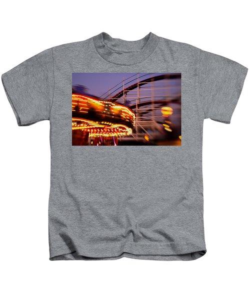 Did I Dream It Belmont Park Rollercoaster Kids T-Shirt