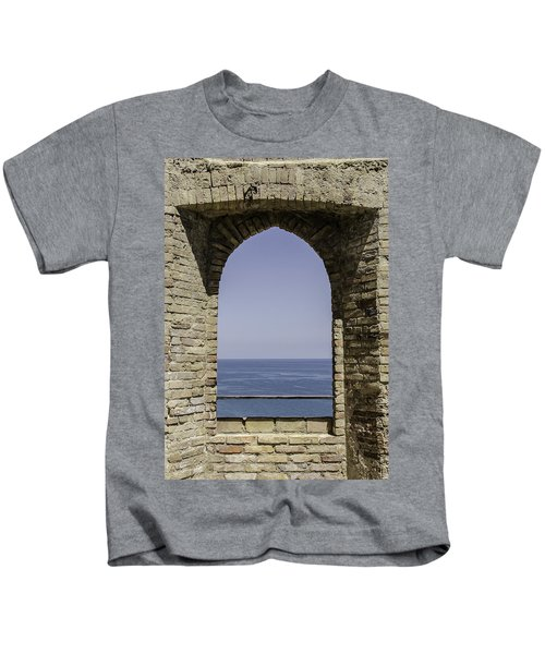 Beyond The Gate Of Infinity Kids T-Shirt