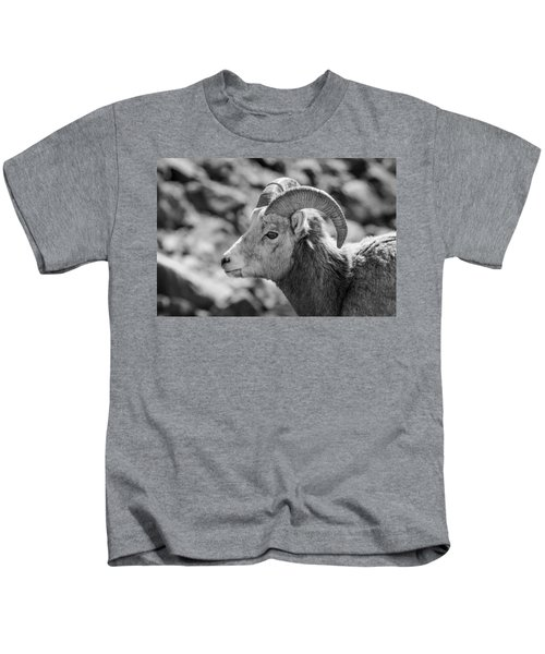 Big Horn Sheep Profile Kids T-Shirt