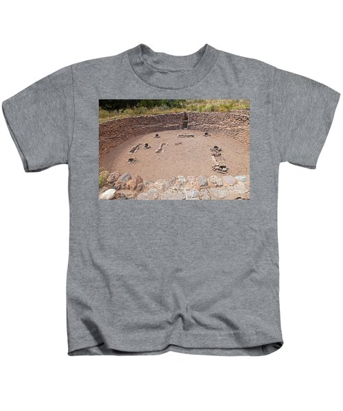 Big Kiva Bandelier National Monument Kids T-Shirt