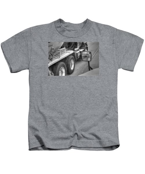 Big Wheels Keep Turning  Kids T-Shirt