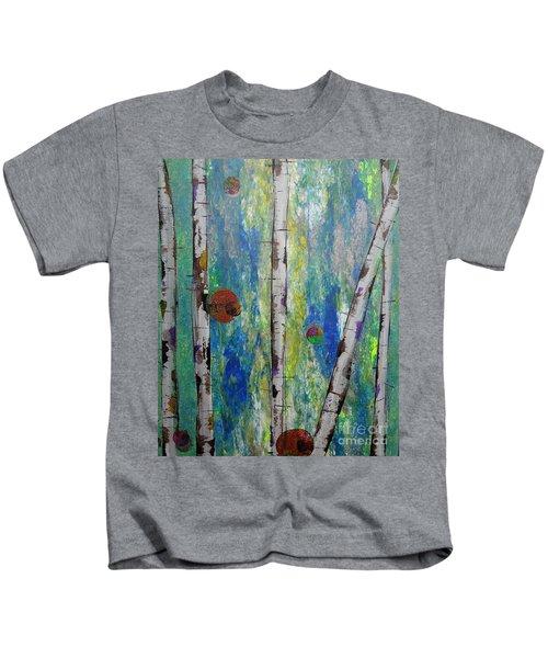 Birch - Lt. Green 4 Kids T-Shirt
